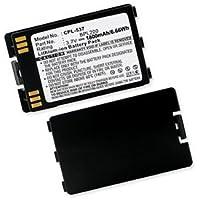 Polycom PBP0850 Cordless Phone Battery Li-Ion, 3.7 Volt, 1800 mAh - Ultra Hi-Capacity - Replacement for SPECTRALINK BPL100/200/300 Rechargeable Battery