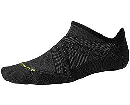 Smartwool Men\'s PhD Run Light Elite Micro Socks (Black) Large