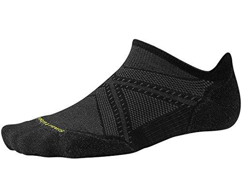 Smartwool Men's PhD Run Light Elite Micro Socks (Black) Large (Smartwool Run Socks)