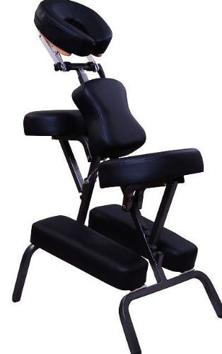 aosom 3 foam portable massage chair tattoo chair spa chair black