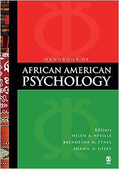 Book Handbook of African American Psychology