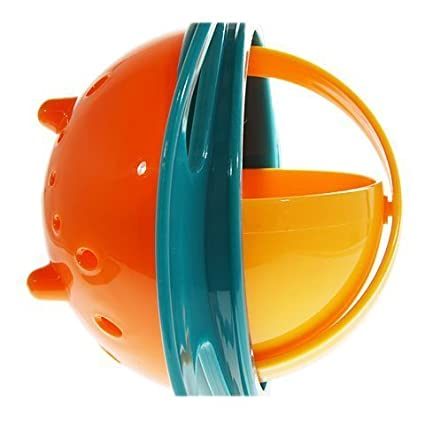 ORENAME Portable Non Spill Feeding Toddler Gyro Bowl 360 Degree Rotate Dishes for Food (Multicolor)