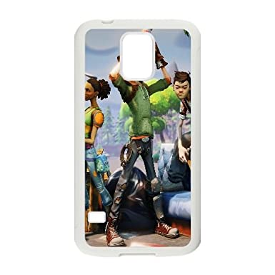 Fortnite Game Samsung Galaxy S5 Cell Phone Case White Exquisite