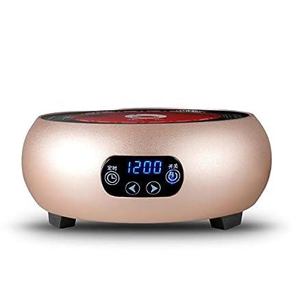 Cuisinière à induction portable, cuisinière électrique en céramique, cuisinière, mini cuisinière à thé (Couleur : Rose)