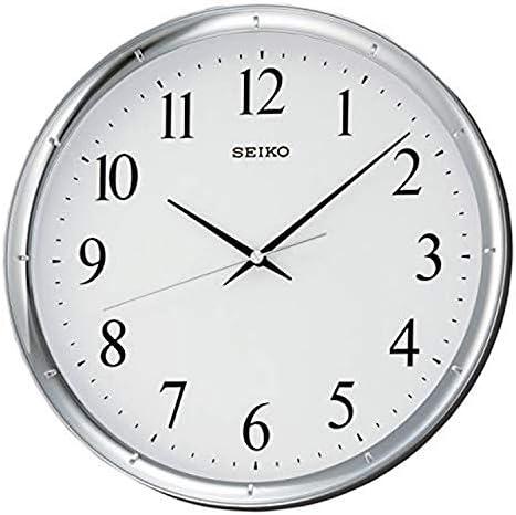 SEIKO 12″ Ultra-Modern Silver-Tone Wall Clock