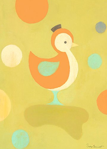 Oopsy Daisy Poser Duckling Stretched Canvas Wall Art by S...