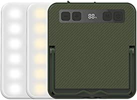 Superway LEDランタン 充電式 昼白色 昼光色 電球色 赤色点灯 SOS 光色/輝度記憶 数字型電気量 輝度表示 三脚接続可能 13400mAh 100調光モード アウトドア 防災 強力磁石内蔵...