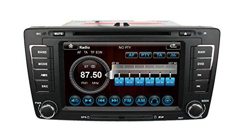 lsqSTAR Touch Screen Car Multimedia GPS System for Skoda Octavia 2014 with Dual Zone /PIP /GPS/BT/Radio/IPOD/3G/SWC free MAP