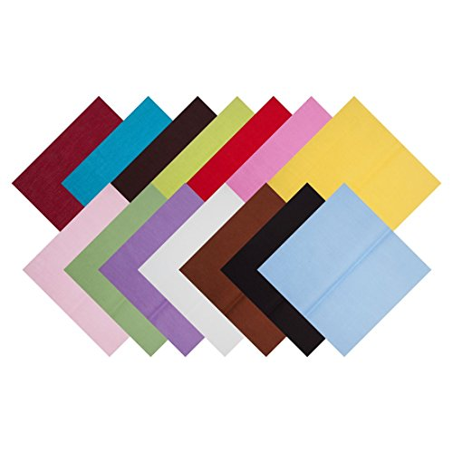 14pcs 8 x 8 inches Cloth