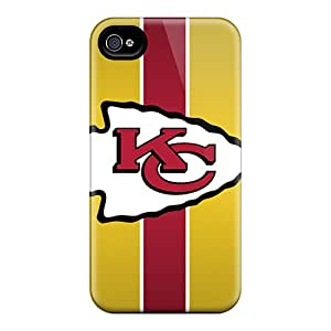 DrawsBriscoe Iphone 6 Scratch Resistant Hard Phone Cases Customized Realistic Kansas City Chiefs Pattern [Agz5461sqFt]