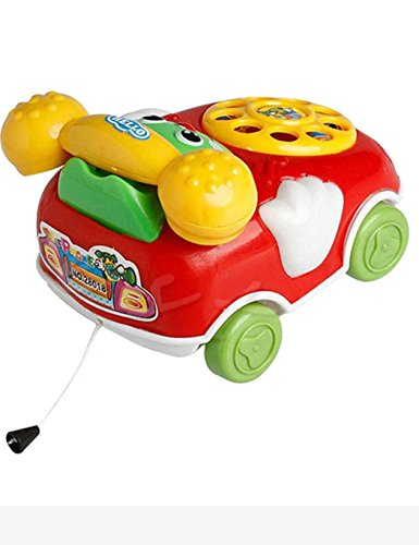 Dieron Baby Toys Cartoon Car Phone Kids Educational Developmental Learning & Activity Toys