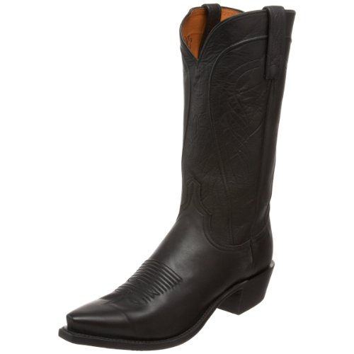 - 1883 by Lucchese Men's N1597.54 Western Boot,Black Burnished Ranch,10.5 EE US