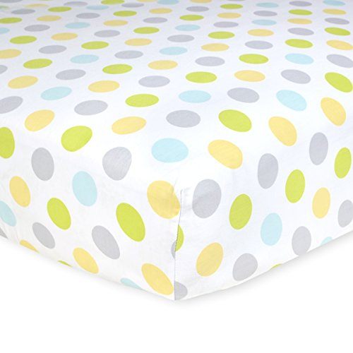 Carters Cotton Fitted Sheet Neutral