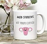 Funny medical student gift, med student mug, coffee mug, medical school, medical college, future doctor, aspiring doctor, premed