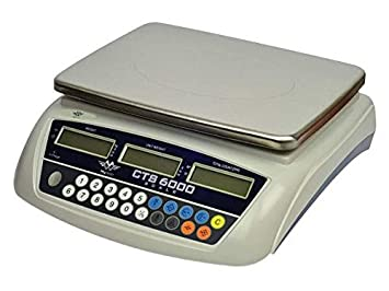 Báscula - Contador - contar de piezas - pesado virola - 0.5 g hasta 30 kg: Amazon.es: Oficina y papelería