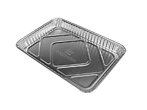 1/4 Size Sheet Cake Aluminum Foil Pan 25/PK (Disposable Quarter Size Trays)