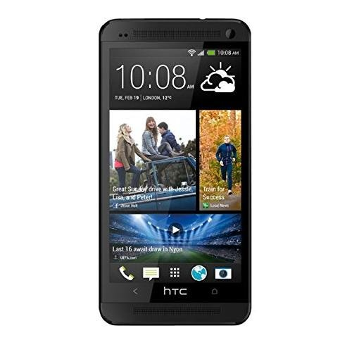 (HTC One M7 32GB Unlocked GSM 4G LTE Android Cell Phone w/Beats Audio - Black)