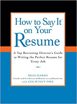 Buy the perfect resume