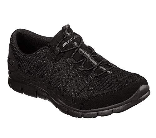 Skechers Women's Gratis-Strolling Sneaker, BBK, 5 M US