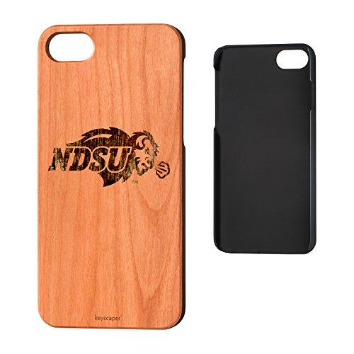 Dakota Cherry - Keyscaper North Dakota State Cherry Wood iPhone 7/iPhone 8 Case NCAA