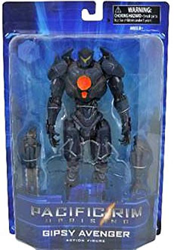 "DIAMOND SELECT TOYS Pacific Rim Uprising TRU Series 1 Gipsy Avenger 7"" Action Figure"