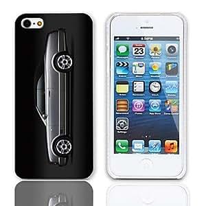 TY-Patrón de coches estuche rígido con paquete de 3 protectores de pantalla para iPhone 5/5S