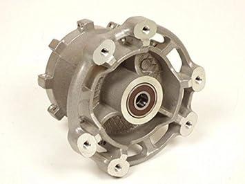 Buje de llanta delantero prévu para 36 radios diámetro eje 12 mm origen moto Derbi 50 Senda Neuf: Amazon.es: Coche y moto