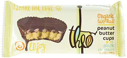 Theo Chocolate Peanut Butter Cups Milk Chocolate -- 1.3 oz