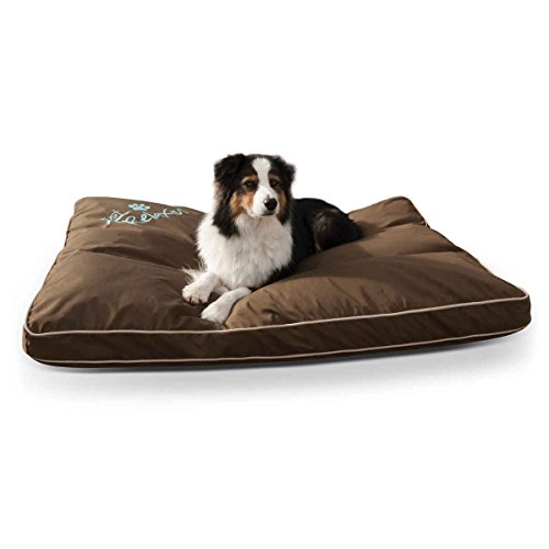 K&H Pet Products Just Relaxin' Indoor/Outdoor Pet Bed Large Chocolate 36