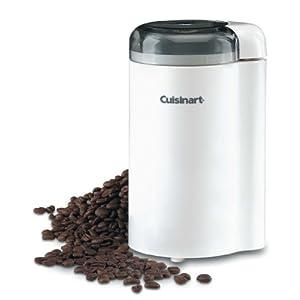 Cuisinart Coffee Bar Coffee Grinder, White