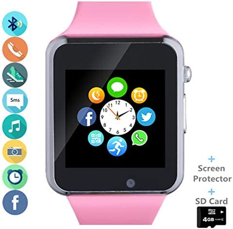 Smartwatch Pedometer Notification Compatible Samsung LG product image