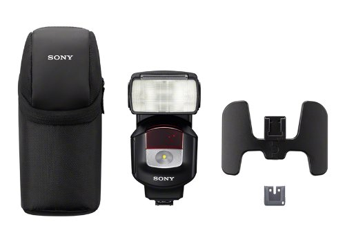 Sony HVLF43M High Power Flash with Quick Shift Bounce (Black) by Sony