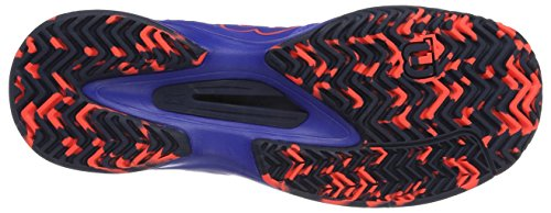 Wilson Kaos Comp W Amparo Blu/Surf the W/Fi 3.5, Scarpe da Tennis Donna, Blu (Amparo Blue/Surf the Web/Fiery Cora), 36 1/3 EU