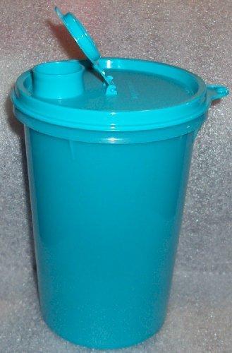 Tupperware 32 ounce Handolier Pitcher Mega Tumbler Aqua Blue
