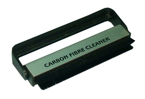Deluxe Carbon Fiber - Pfanstiehl LP Deluxe No-Static Vinyl Record Cleaning Brush with Carbon Fibers