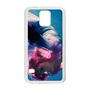 C-EUR Customized Print Demi Lovato Hard Skin Case Compatible For Samsung Galaxy S5 I9600 by lolosakes