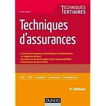 Techniques d'Assurances: Contrats d'Assurance  4e Éd.