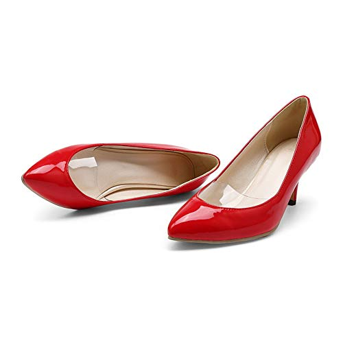 1TO9 Sandales EU MMS06131 36 5 Femme Rouge Compensées Red rgrH6qAw