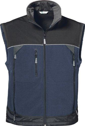 Softshell-Weste blau/schwarz Größe 3 (L)