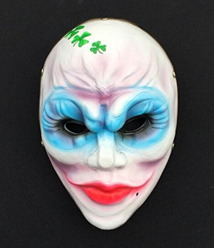 2015 - new Clover Payday-2 Payday the heist mask Video Game Memorabilia HALLOWEEN prom party MOVIE SIDESHOW props Costume