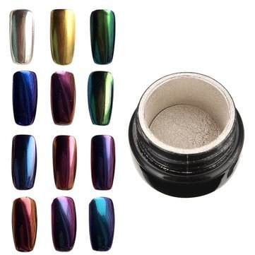 Nail Gel & Polish - 10 Colors To Choose Magic Mirror Chrome