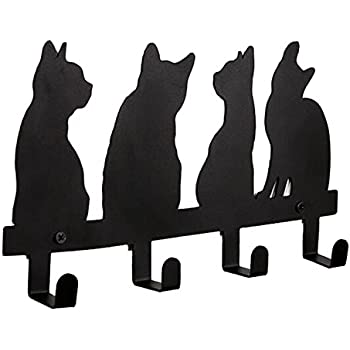 Amazon Com 7 Cats Cast Iron Wall Hanger Decorative Cast