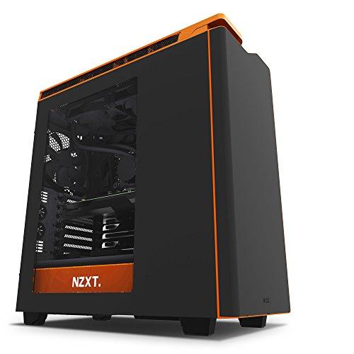 Gabinete NZXT H440 Negro con Rojo Mid Tower