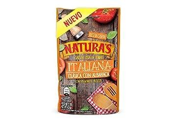 Naturas Salsa de Tomate Italiana Clasica con Albahaca / Italian Tomato Sauce with Basil 106 g
