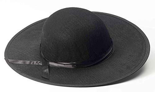 Forum Novelties Men's Adult Padre Priest Hat Costume Accessory, Black, One Size