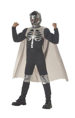Nacho Libre Costumes Kids (El Muerto Luchadore Boys Costume - Child Size 10-12)