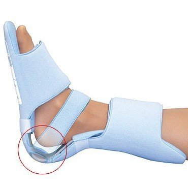 HealWell SoftEase Multi AFO Heel Suspender - SMALL by Colonial Medical Assisted - Mall Colonial Stores