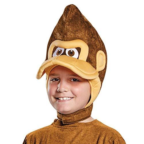 Donkey Kong Super Mario Bros. Nintendo Child Headpiece, One Size Child ()