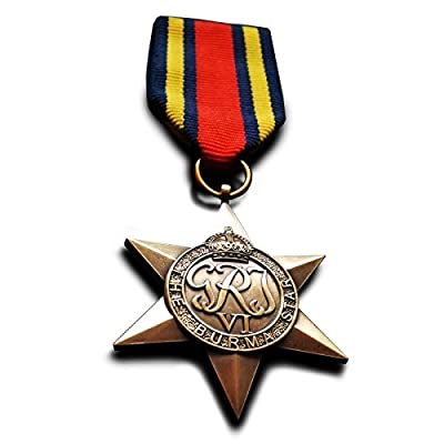 Burma Star British Military Medal WW2 British Empire Force Commonwealth Replica