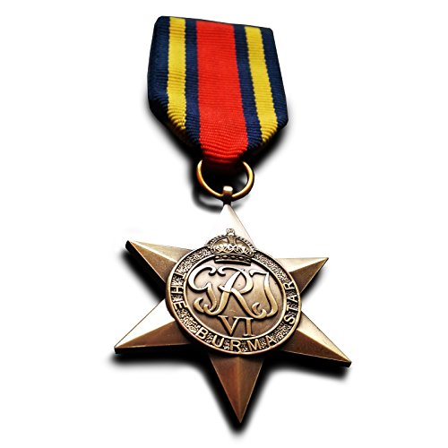 Burma Star British Military Medal WW2 British Empire Force Commonwealth Replica